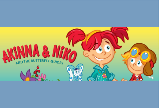 Akinna & Niko and the Butterfly-Guides